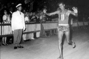 abebe bikila a roma 1960