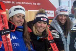 mondiali sci Super G femminile
